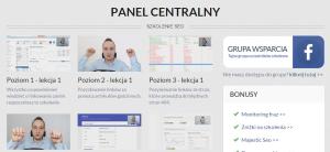 Top Seo MasterClass panel glowny szkolenia